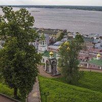 Вид со стен Нижегородского кремля :: Сергей Цветков