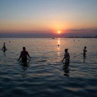 Море тихий вечер :: Олег Гроник