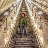 В метро! :: Натали Пам