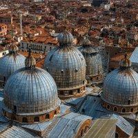 """Из серии """"Венеция сверху"""" - Купола базилики.. :: Виктор Льготин"""