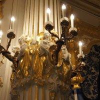 Архитектурная отделка Синей гостиной :: Елена Павлова (Смолова)