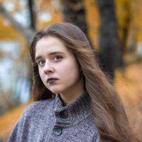 Настюшкин осенний портретик :: Евгений Банных