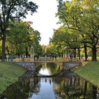 Китайский мостик в Александровском саду. :: Сергей
