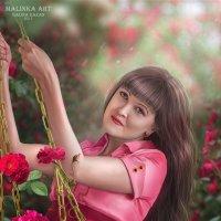 Автопопртрет) :: Malinka Art Galina Kazan