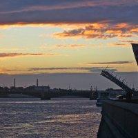Троицкий мост сводится :: Елена