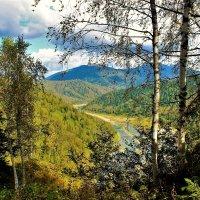 Река Уса в Кузнецком Алатау :: Сергей Чиняев