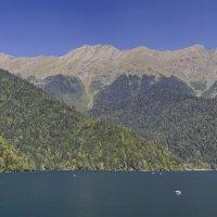 Озеро Рица. Панорама :: berckut 1000