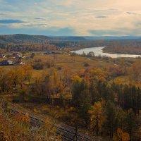 Сентябрь в долине Иркута :: Анатолий Иргл