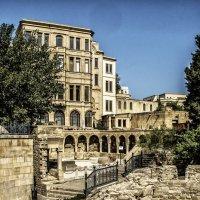Ичери-Шихер старый город в Баку... :: Юрий Яньков