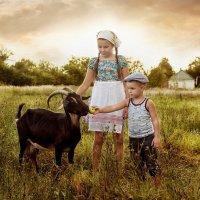 козочка - коза :: Наталья Владимировна Сидорова