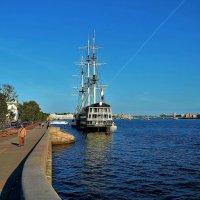 Осень на Петровской набережной... :: Sergey Gordoff