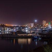 Ночной пейзаж Стрелецкой бухты Севастополя :: Алина Леонова
