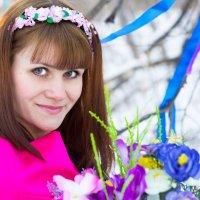 девушка весна :: Светлана Бурлина