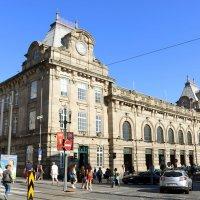Здание вокзала в Порту :: Ольга
