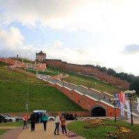 Чкаловская лестница в Нижнем Новгороде :: Наталья Лунева
