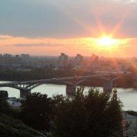 Закат над Волгой :: Наталья Лунева