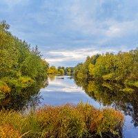 Осень,речка Каркуль :: Виктор Заморков