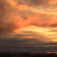 Последний сентябрьский закат :: Татьяна Ломтева