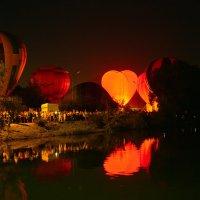 Красиво, но стемнело. Не полетим! :: Николай Николенко