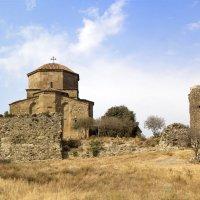 Джвари (крест) монастырь в Мцхете (первая столица Грузии). :: Cергей Павлович