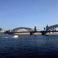 Санкт-Петербург. Мост Петра Великого. :: Лариса (Phinikia) Двойникова