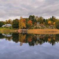 осенние картины парка Монрепо :: Александр