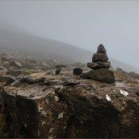 Пирамидка в тумане :: Shapiro Svetlana