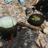 уха и чай готовы :: Дмитрий Солоненко