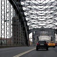 Мост Петра Великого (Большеохтинский) :: Ирина Румянцева