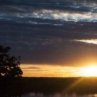 Последний сентябрьский закат :: Вероника Белецкая
