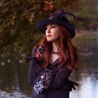 Дама в шляпке :: Елена Маковоз
