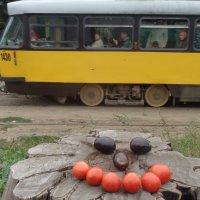 От улыбки светится трамвай!... :: Алекс Аро Аро