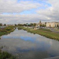 Вид с моста на р.Упа :: Сергей Мухин
