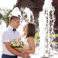 свадьба около Храма Всех Святых в Минске :: Екатерина Гриб