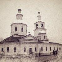 Казанский собор / Дивеево :: Андрей Головкин