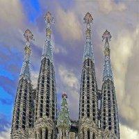Искупительный храм Святого Семейства («Sagrada Familia») :: Alexandеr P