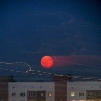 Красная луна :: София Феникс