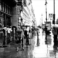 Питер под дождём проснулся! :: Натали Пам