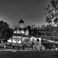Прогулка в  ночи.. :: Виктор Твердун