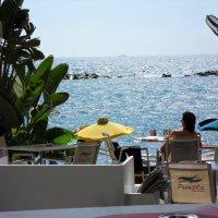 Средиземное море. В кафе :: Ирина Л