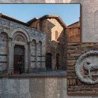 Сан-Джаминьяно.Церковь Святого Франциска,13 век. :: Надежда Лаптева
