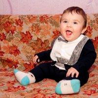 веселый малыш :: надежда Коновалова
