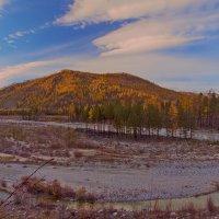 Панорама речной долины :: Анатолий Иргл