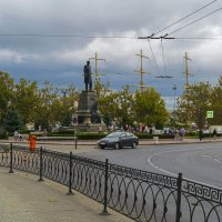 Площадь Нахимова :: Zinaida Belaniuk