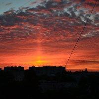 Багряный закат! :: Семён Пензев