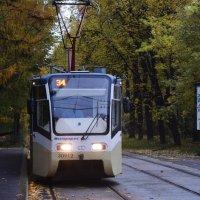 Трамвайчик доставит вас в осень. :: Татьяна Помогалова