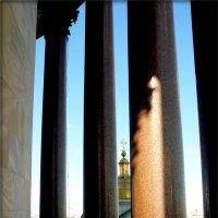 Колоннада Исаакиевского собора (на высоте 100 м) :: Galina Belugina