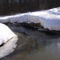 Зимний холод - Весеннее солнце! :: Анна Воробьева
