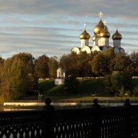 Успенский собор вид со стрелки :: Григорий