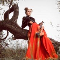 Под звуки скрипки дышит Осень... :: Olga Kramoreva